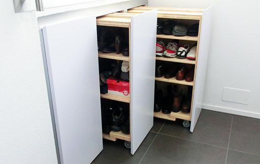 Schuhschrank ausziehbar bestseller shop f r m bel und for Garderobe selber bauen scha ner wohnen